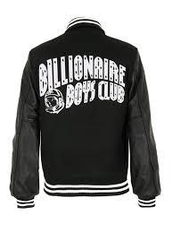 Billionaire Boys Club Size Chart Billionaire Boys Club Varsity Letterman Jacket