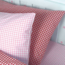 Red Gingham Duvet Cover - Sweetgalas & Gingham Duvet Cover And Pillowcase By Tessuti Notonthehighstreet Com Adamdwight.com