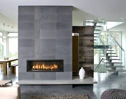 install direct vent fireplace interior wall add to modern living room