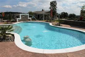 Glamorous Gunite Inground Pools Shapes Fountains