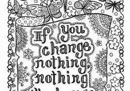 Free Printable Quote Coloring Pages For Adults Inspirational Quotes
