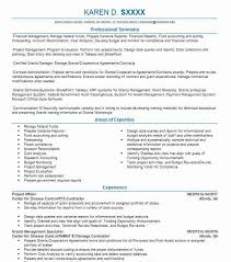 Account Planner Resumes Project Officer Resume Sample Management Resumes Livecareer