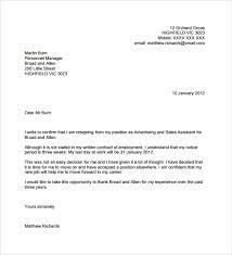 Format Of Resignation Letter Of Employee Fresh 7 Sample Resignation ...