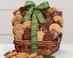 two dozen cookies and brownies gift basket at wine country gift baskets
