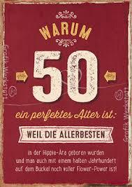 Warum 50 Ein Perfektes Alter Ist Doppelkarten Grafik Werkstatt