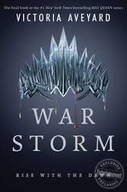 victoria aveyard reveals the cover for final red queen book war storm
