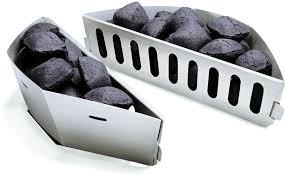 Комплект лотков-разделителей для угля Weber 7403 недорого ...