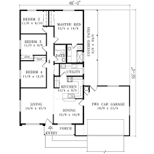 1400 to 1500 sq ft house plans lovely adobe southwestern style house plan 4 beds 2
