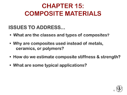 Ppt On Composite Materials Ppt Chapter 15 Composite Materials Powerpoint Presentation Id