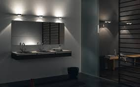 modern bathroom lighting fixtures bathroom light design cool and modern with wall light above mirror