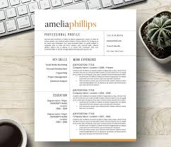 How To Create A Modern Resume In Word 20 Free And Premium Word Resume Templates Download