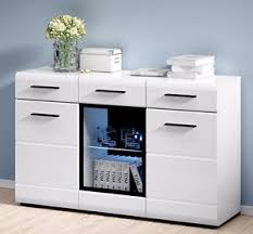 white gloss cabinet. Brilliant White Image Is Loading WHITEGLOSSSideboardLEDDisplayCabinetDresserBuffet With White Gloss Cabinet C