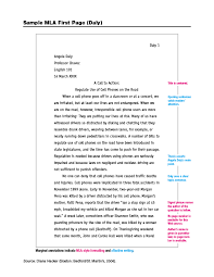 cite in text mla style
