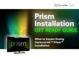 prism tv installation overview centurylink