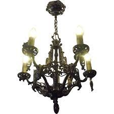 Kronleuchter Beleuchtung Licht Leuchte Antik Glas Antike