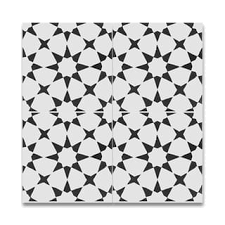 Black And White Pattern Tile Enchanting Buy Decorative Tiles Online At Overstock Our Best Tile Deals