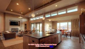 Kitchen And Dining Room Layout Decorating An Open Floor Plan Ideas Acadian House Plans