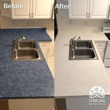 blue laminate countertops blue laminate refinished in faux stone sterling blue green laminate countertops