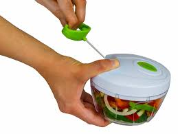 amazon com brieftons manual food chopper compact and powerful