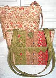 Homemade Quilted Bags Patterns Free | PURSE QUILT PATTERNS ... & Homemade Quilted Bags Patterns Free | PURSE QUILT PATTERNS | Browse Patterns Adamdwight.com