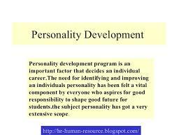 an essay on personality development personality development essay examples kibin