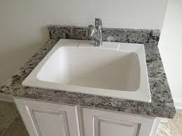 alaska white granite laundry countertop by luxury countertops