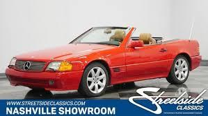 The site owner hides the web page description. Mercedes Benz Sl Class 500sl For Sale In Nashville Tn Cargurus