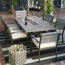 outdoor dining table sets costco for 6 round
