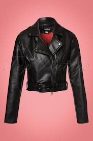 collectif clothing kim cry baby biker jacket in black 21713 20170609 0006w