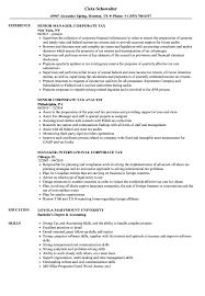 Tax Analyst Resume Sample Transform Sample Resume Tax Analyst On Corporate Tax Resume Samples 20