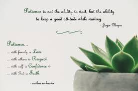 Patience Quotes Melinda Maysonet