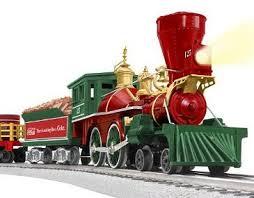 lionel santas flyer o gauge christmas trains