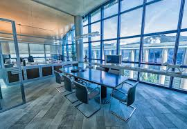 eco friendly office. Empty Meeting Room In A Modern Office. Eco Friendly Office