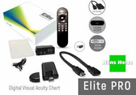 Digital Vision Chart Details About Elite Lcd Vision Chart Monitor Software Only Monitor Not Included New