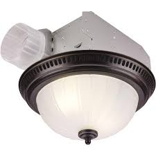 bathroom exhaust fan and light. NuTone Decorative Bronze 70 CFM Ceiling Exhaust Fan With Light Bathroom And