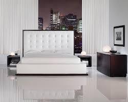 Ludlow Bedroom Set | Wenge & White Queen Bedroom Set