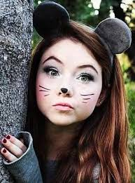 it s may right now and i m pinning fall stuff lol well this is a diy last minute mouse costume grey smokey eye makeup draw on some whiskers and a nose