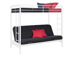 Twin Over Futon Bunk Bed DHP Furniture