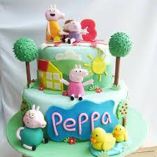Peppa Pig Birthday Cake 12 Cute Peppa Pig Birthday Cake Designs