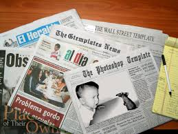Newspaper Template For Photoshop Newspaper Template By Wildsway18 On Deviantart