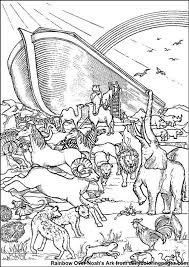 Noah S Ark Printable Coloring Pages