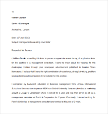 education consultant cover letter sample consulting cover letter 9 download free documents in pdf word