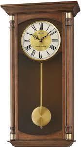 seiko qxh069b wall clock on