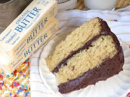 homemade classic yellow cake