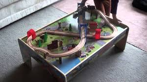 Train Set Table With Drawers Review Of The Kids Wooden 50 Piece Train Set With 2 In 1 Activity