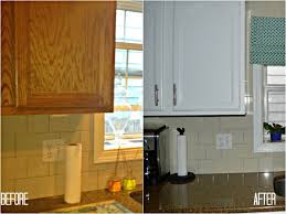 painting oak kitchen cabinets whiteKitchen  Magnificent Bleached Oak Cabinets White Oak Countertop