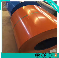 China Akzonobel Color Painted Ppgl Steel Coil For Corrugated