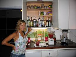 Alcohol Cabinet Bar Drink Recipes How To Make Mixed Drinks With Ingredients You