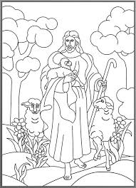 Small Picture the little lost sheep coloring page lost sheep coloring page draw