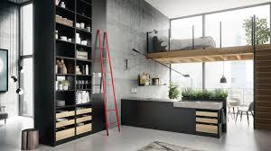 SieMatic URBAN Modernes offenes Küchendesign im großstädtischen